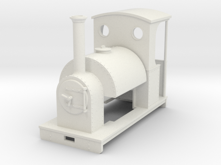 Gn15 saddle tank loco with cab 3d printed