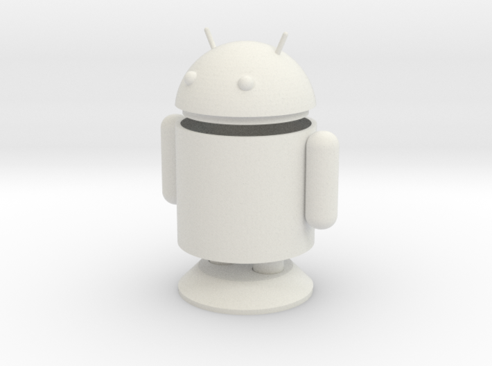 Small Android Model 6cm x 4cm x 7.5cm 3d printed