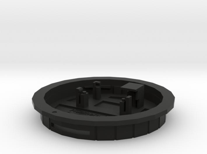 PiCamera Canon rear cap (bfd=0.0) 3d printed