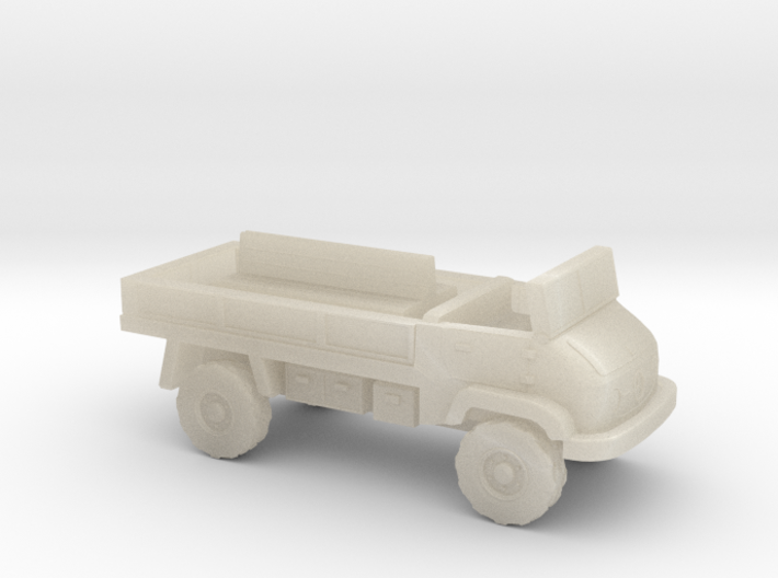 1:144 MERCEDES BENZ UNIMOG 404S troop carrier V2 3d printed