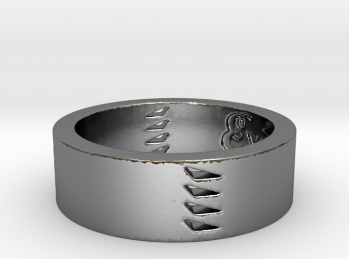 Explorers Ring Size 7 3d printed