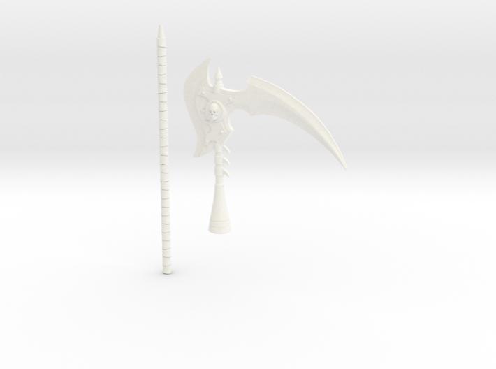 Scythe of Terror 3d printed