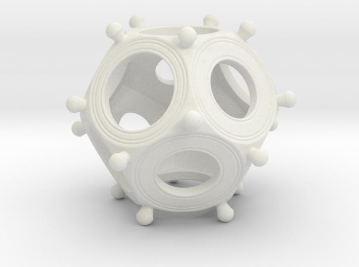 Roman Dodecahedron Medium 3d printed