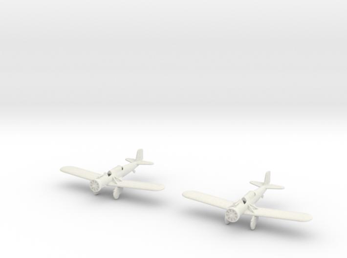 1/200 Curtiss A-12 Shrike (x2) 3d printed