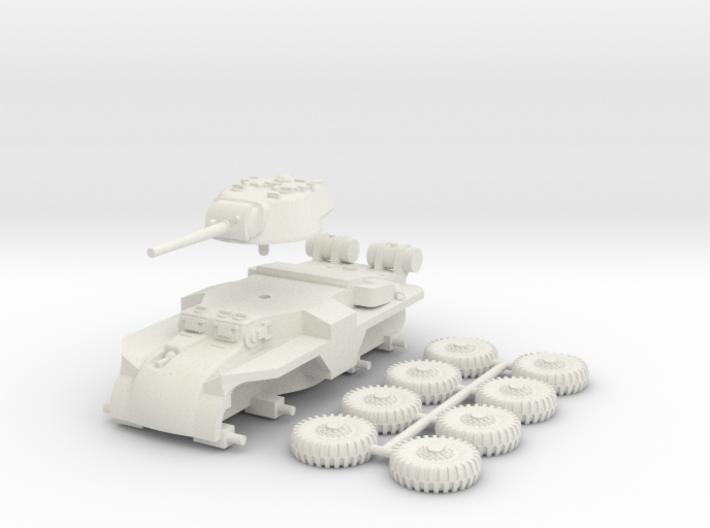 1/100 (15 mm) T18E2 Boarhound 3d printed