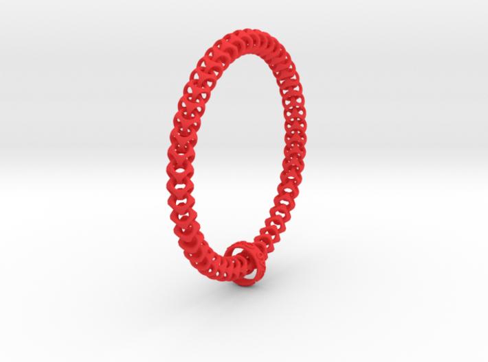 Cubichain Bracelet (XXL) 3d printed