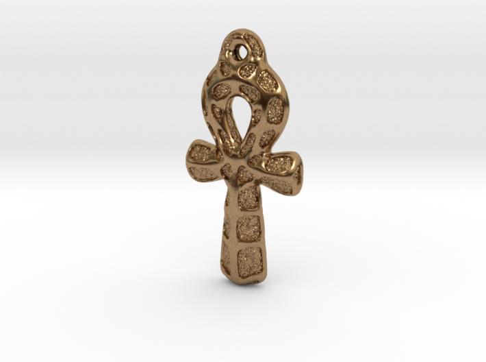 Ankh Pendant - Textured 3d printed