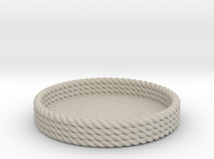 Rope Tray 3d printed