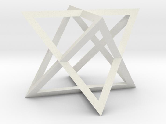 2 tetraeder 3d printed