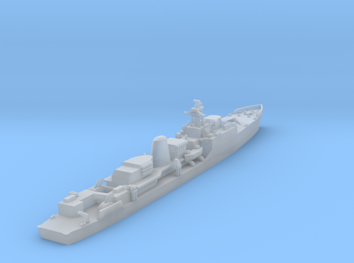 HMS Exmouth 1:1250 & 1:600 3d printed