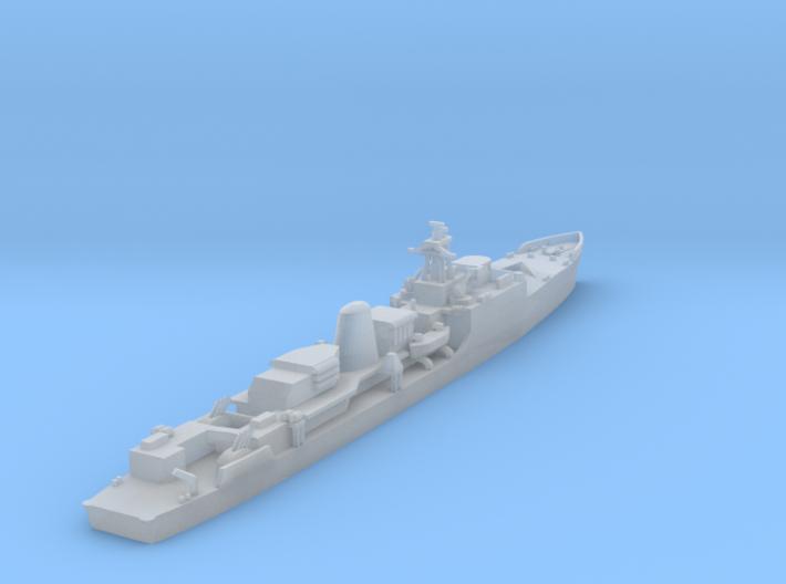 1/1250 HMS Exmouth 3d printed
