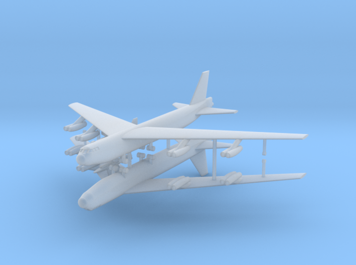 1/600 Experimental Aircraft Set 2 3d printed