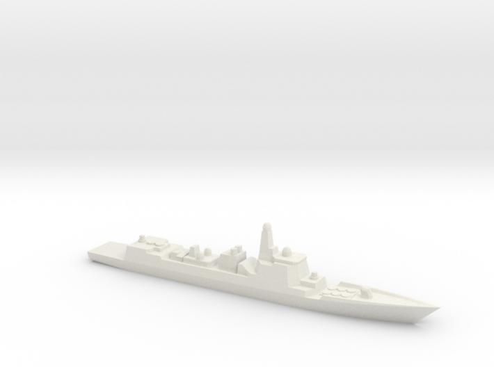 Type 052C 1/3000 3d printed