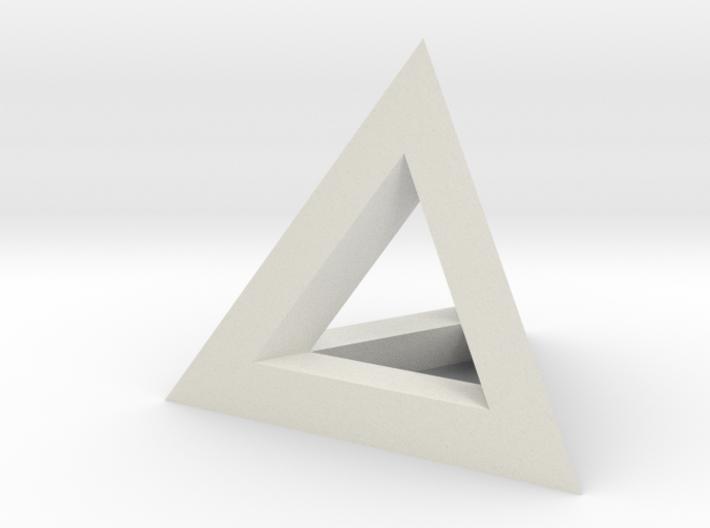 tetraeder kante 3d printed