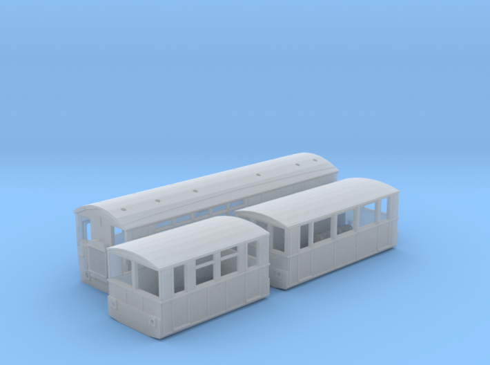 WCPR Railbus Pack (N Scale) 3d printed