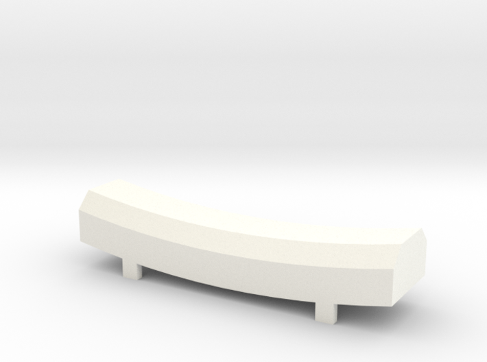 TORii chopstick rest 3d printed printed in White Acrylic