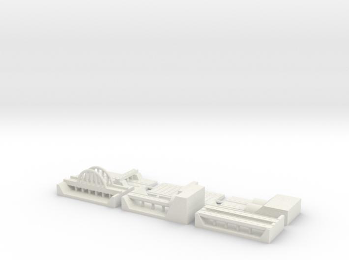 "1"" Building Set 6 - Freeway 3d printed"