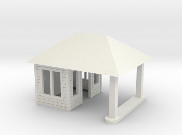 Quig's Esso Main Building HO Scale 3d printed