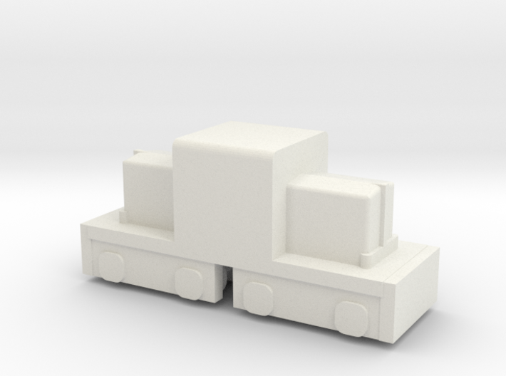 "7.5"" Gauge ""Mini"" Whitcomb - HO Scale (1/87) 3d printed"