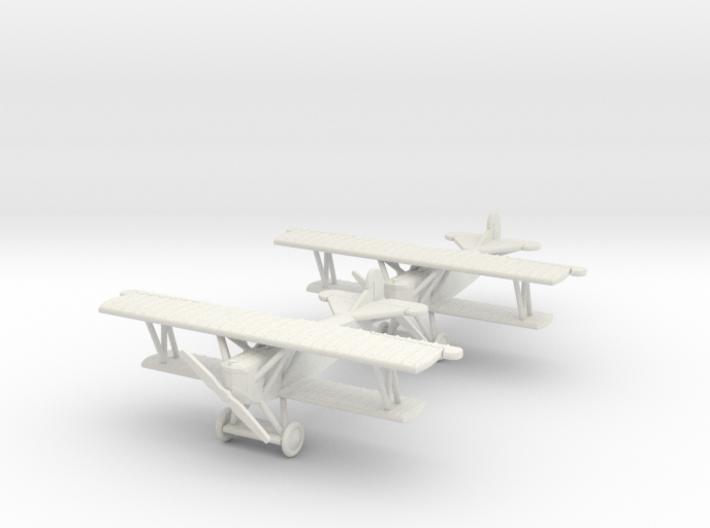 "Fokker D.VII ""Kette"" 1:144th Scale 3d printed"
