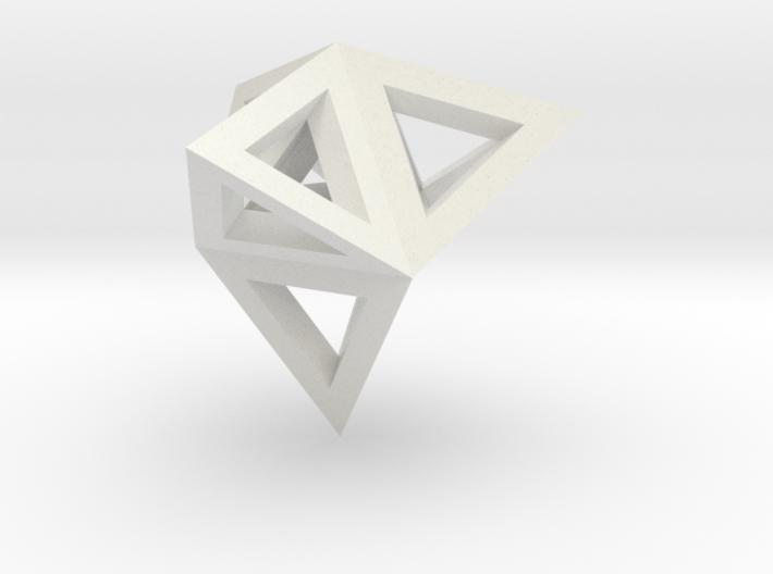 tetraeder mit tetraedern 3d printed
