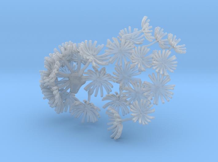Wild Wind Dandelion 3d printed