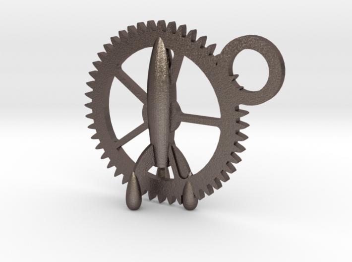 Gear-rocket 3d printed
