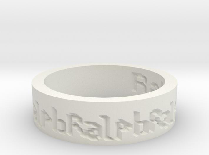 by kelecrea, engraved: Ralph 3d printed