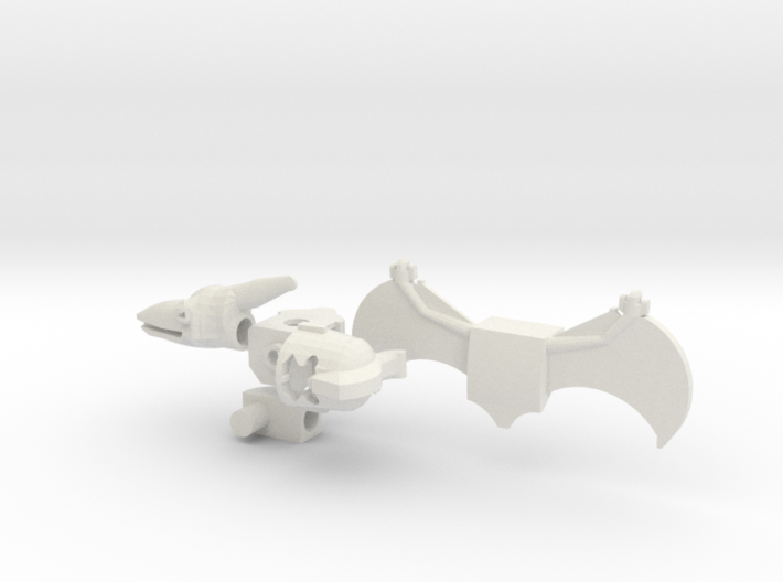 Pterodactyl Man Upgrade Set 3d printed