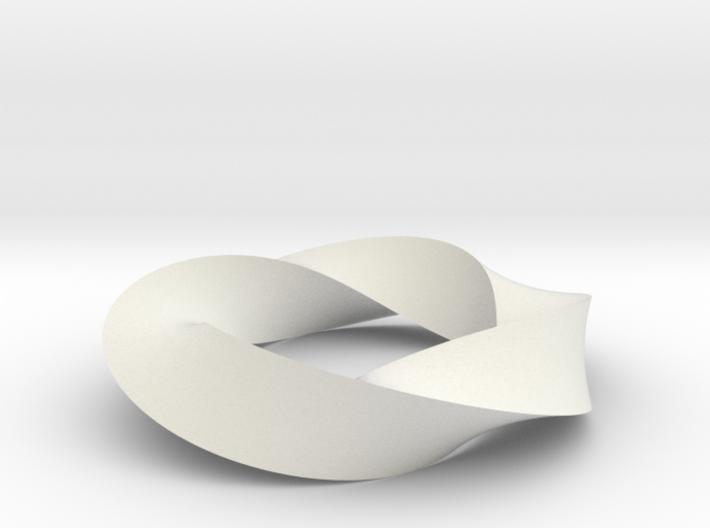 Mobius Loop - Triangle 4/3 twist 3d printed