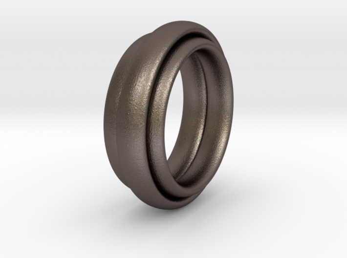 TriBundle Ring-Size9 3d printed