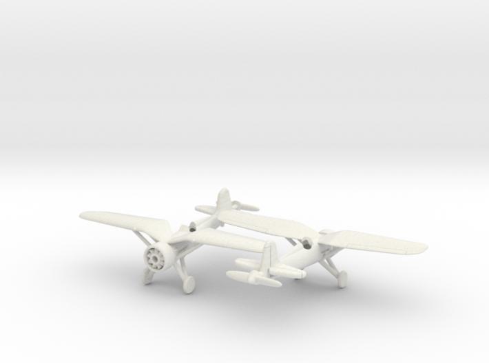 1/240 PZL-P11 3d printed