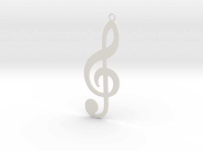 Violin Key 3d printed