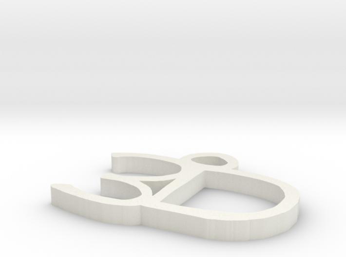 3D Charm 3d printed