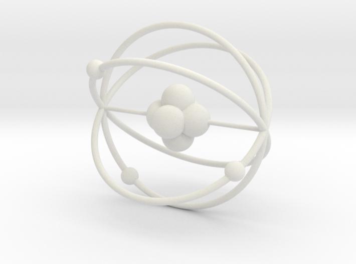 Atom Li6 Lithium 3d printed