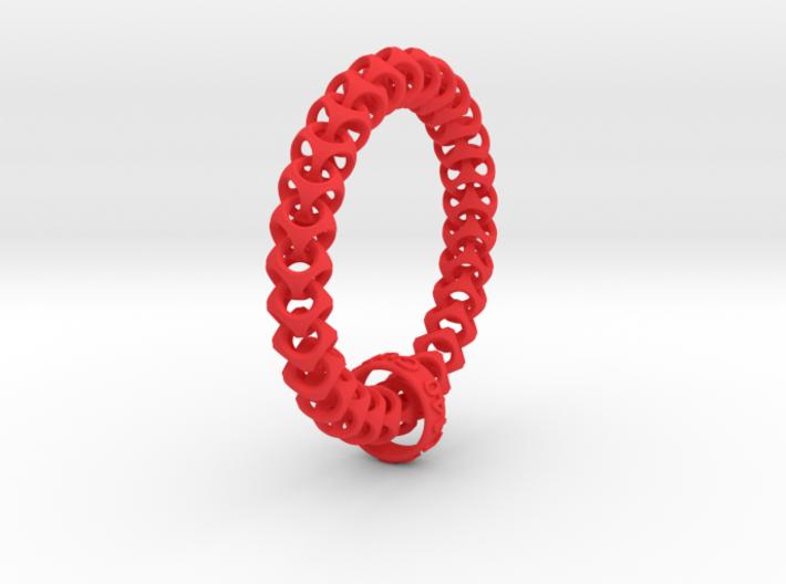 Cubichain Bracelet (Multiple sizes) 3d printed