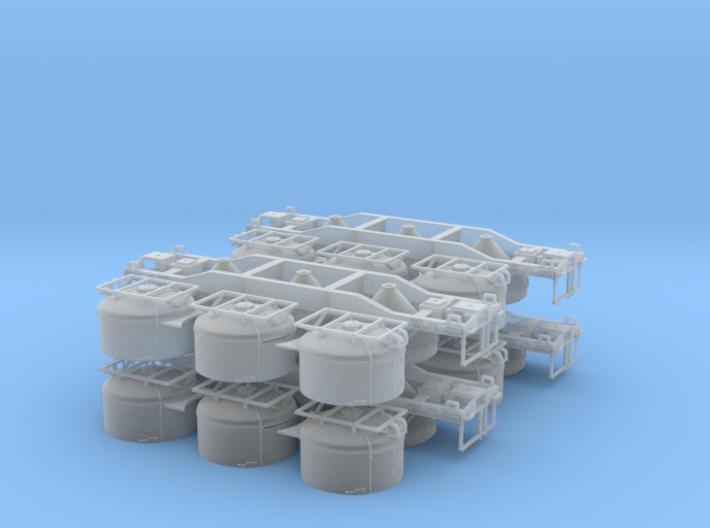 HWCX Cement Hopper (4) 3d printed