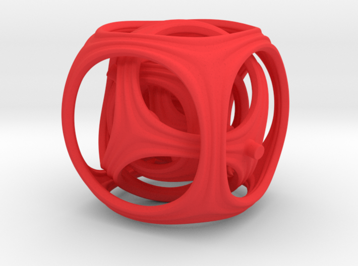 Gyro the Cube (Multiple sizes, from $11.50) 3d printed