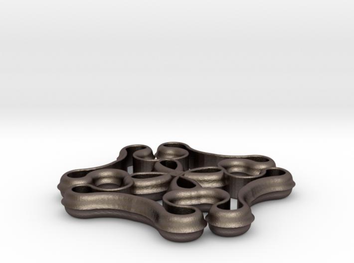Knot Pendant 3d printed