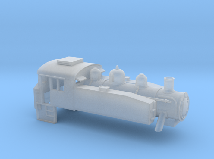 USA Tank - N - 1:148 3d printed