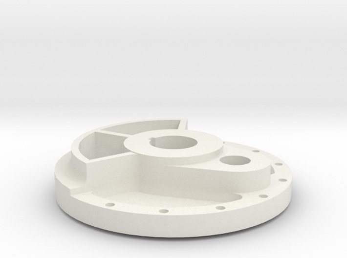 Climax Crank Disk - 1-8th Scale 3d printed