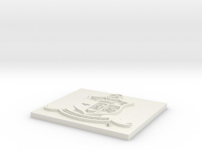 KAPPA Crest 3d printed