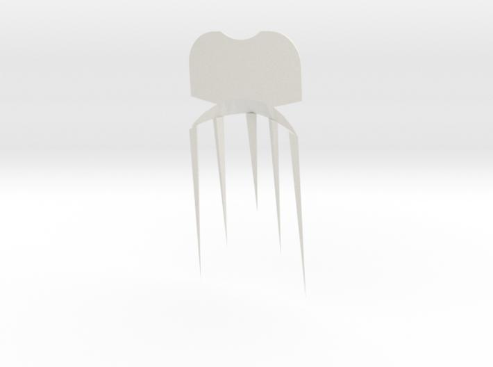 Face2comb 3d printed