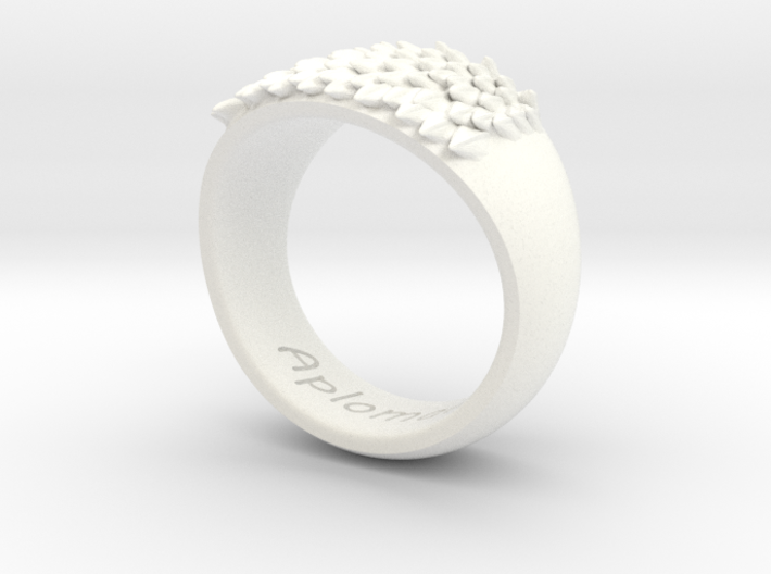 Scale Ring - (Size US 10) 3d printed