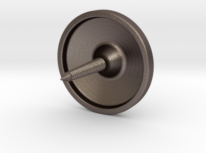 Button Revision 5-22 3d printed