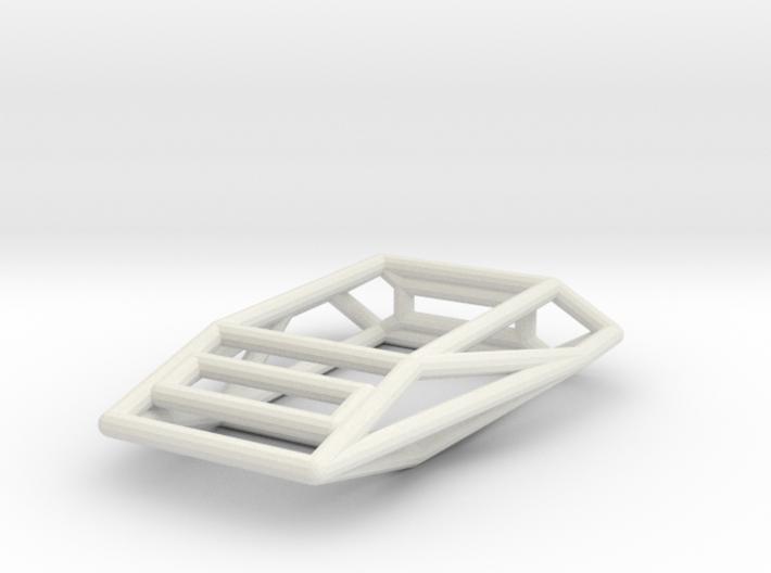 Adder Wireframe 1-300 3d printed