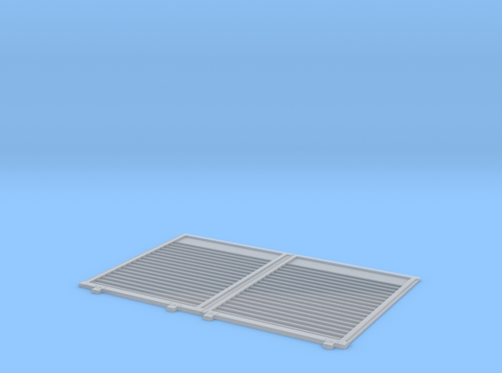 YSD Industries Double 8ft Plate C Door Assy 3d printed