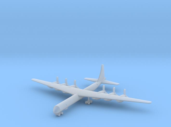 1/600 Convair B-36 Peacemaker 3d printed