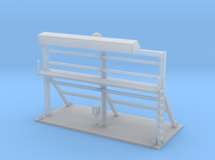 Building Sign 1 N Scale 3d printed