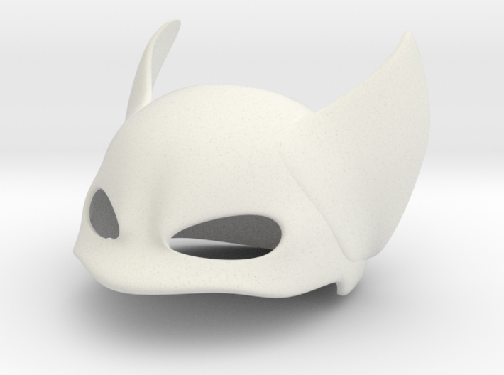 Winged Face Mask 3d printed